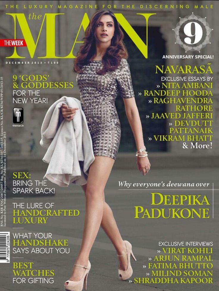 Deepika Padukone for The Man December 2013