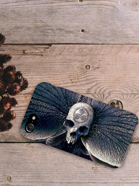 Mysterious Skull Gray Mobile Case Art for iPhone Samsung Galaxy 3-D Print full wrapped hard plastic back shell for cell phone  iPhone 4 / 4S iPhone 5 / 5S iPhone 5C iPhone SE iPhone 6 iPhone 6S iPhone 6 Plus iPhone 6S Plus iPhone 7 iPhone 7 Plus  Samsung Galaxy S5 / S5 mini Samsung