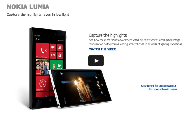 Nokia Teases Lumia 928 In Low Light Camera Test, Pits It Against Galaxy S3 & iPhone 5  If at first you don't succeed, try, try again.