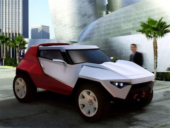 Aggressively Futuristic Roadsters