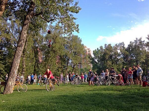 Cyclepalooza Pinata Ride 2014 Twitter