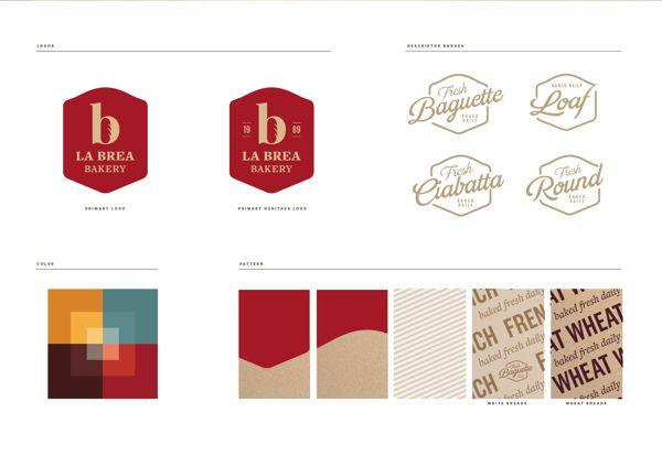 La Brea Bakery Rebrand on Behance