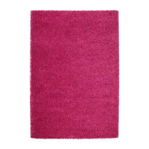 HAMPEN Teppich Langflor Leuchtendrosa