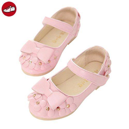 Igemy 1Paar Lässige Kinder Frühlingsblumen Mädchen Kinder Mode Sneakers Weiche Sandalen Schuhe (26, Rosa) - Kinder sneaker und lauflernschuhe (*Partner-Link)