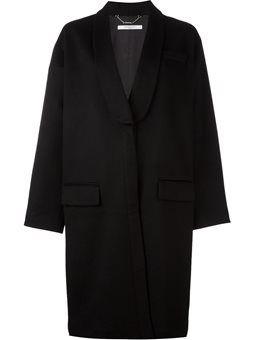 oversized mid-length coat