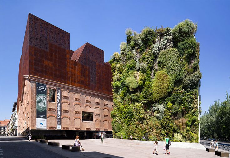 CaixaForum Madrid: A Vertical Garden in the Spanish Capital
