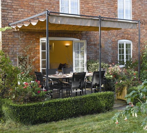 Rowlinson St Tropez Lean To Wall Canopy Garden Pergola - 25+ Best Ideas About Pergola Canopy On Pinterest Screened Canopy