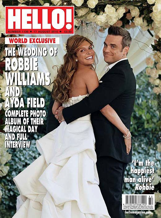 Flashback Friday: the story behind this Robbie Williams wedding cover
