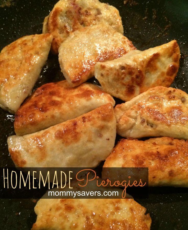 homemade pierogies for the freezer | mommysavers.com | Stand Mixer ...