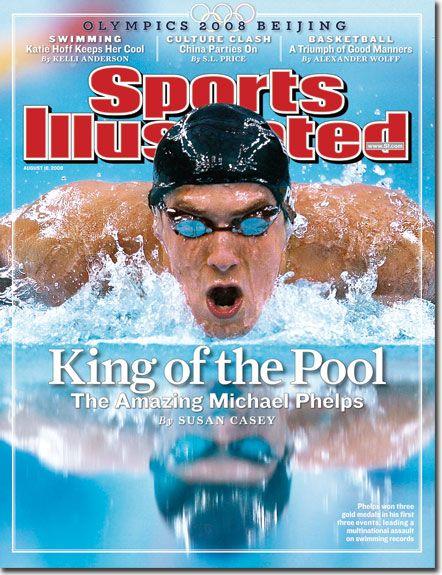 "Michael Phelps ""King of the Pool"" 8.18.08"
