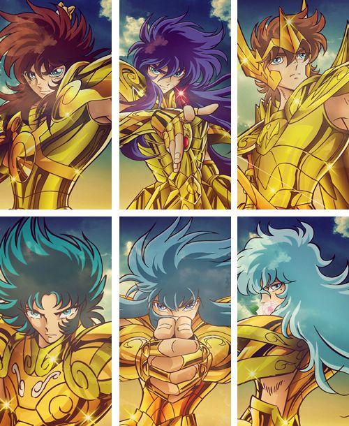 Caballeros de Oro: Libra, Escorpio, Sagitario, Capricornio, Acuario y Pisis