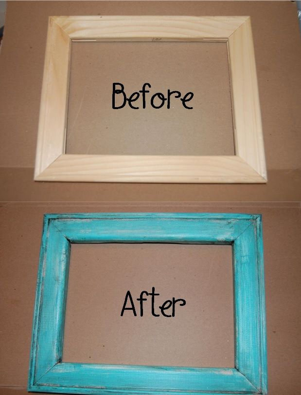 Fein How To Make A Picture Frame Look Antique Ideen - Badspiegel ...