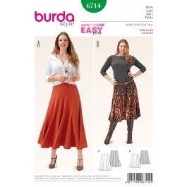 Burda Pattern- 6714 Missses