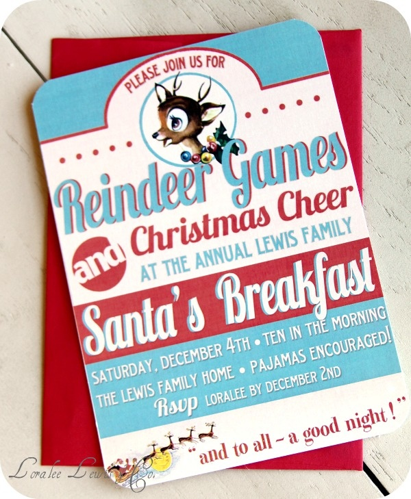 christmas party poster ideas - photo #45
