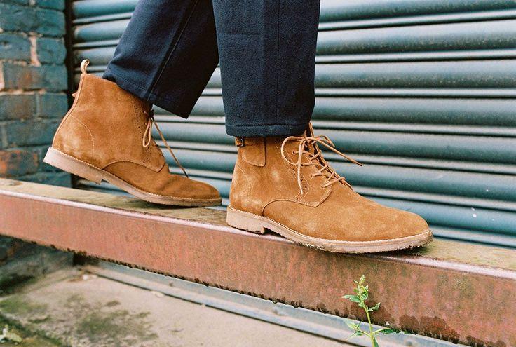 Les chaussures cuir de la collection SCHMOOVE Homme Hiver 2017 - schmoove.fr