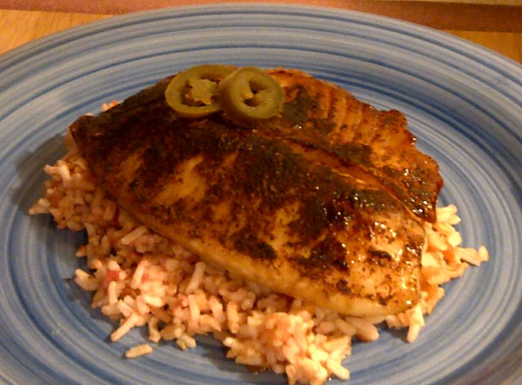 Skinny Sweet and Spicy Tilapia