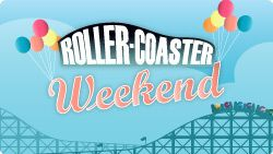Look's like April is going to be a big prize month with a roller coaster weekend planned for the 5th an 6th 8pm - 10pm  25 pence per carriage ticket and with only four carriage's and any of them only needing the first six Bingo balls for a   guaranteed jackpot of £75 with wins up to £500 expected you only need to be initto-winit http://www.initto-winit.com/bingo/tombola-bingo/