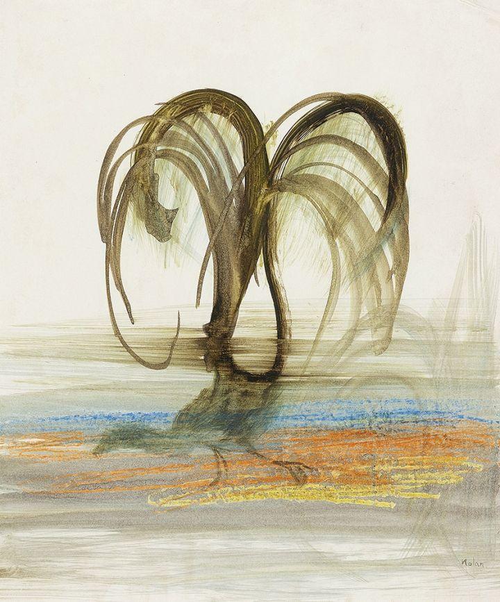Lyrebird - SIDNEY NOLAN