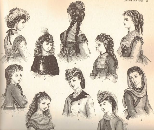 children's hairstyles in 19th
