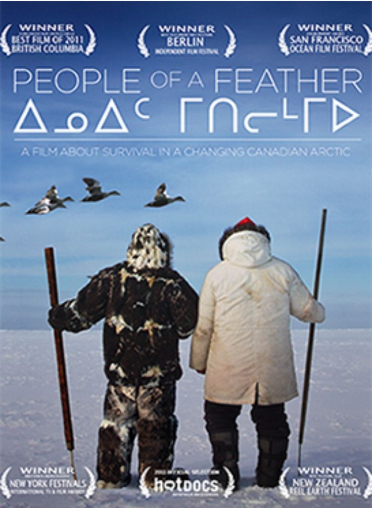 People of a Feather takes us into the world of the Inuit in northern Canada. Watch #PeopleofaFeather on #IAMflix