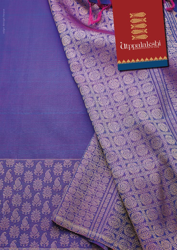 Kancheeveram yet trendy saree with mango & floral border. With chakkaram all over the pallu. Wear it and you will not get the blues. #Utppalakshi #Sareeoftheday#Silksaree#Kancheevaramsilksaree#Kanchipuramsilks #Ethinc#Indian #traditional #dress#wedding #silk #saree#craftsmanship #weaving#Chennai #boutique #vibrant#exquisit #pure #weddingsaree#sareedesign #colorful #elite