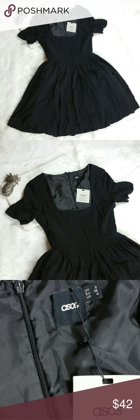 Asos Tutu Skirt mini Dress size 4 Asos Tutu Skirt mini Dress size 4  The only flaw is that the tag is falling off  New with tags purchased at a second hand store  Pit to pit 16in Waist 12in Top to bottom 31in ASOS Dresses Mini