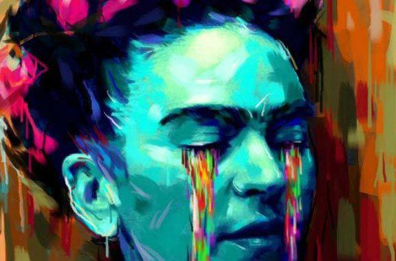 Frida kahlo obras de arte buscar con google pinturas - Nombres de colores de pinturas ...