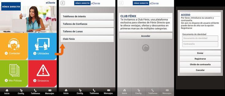 Fénix Directo continúa mejorando sus servicios al cliente para proporcionar una experiencia #online más completa, sencilla y satisfactoria. Desde nuestra #aplicación #móvil #eCliente puedes acceder a las #ventajas #exclusivas del #Club Fénix desde ella.