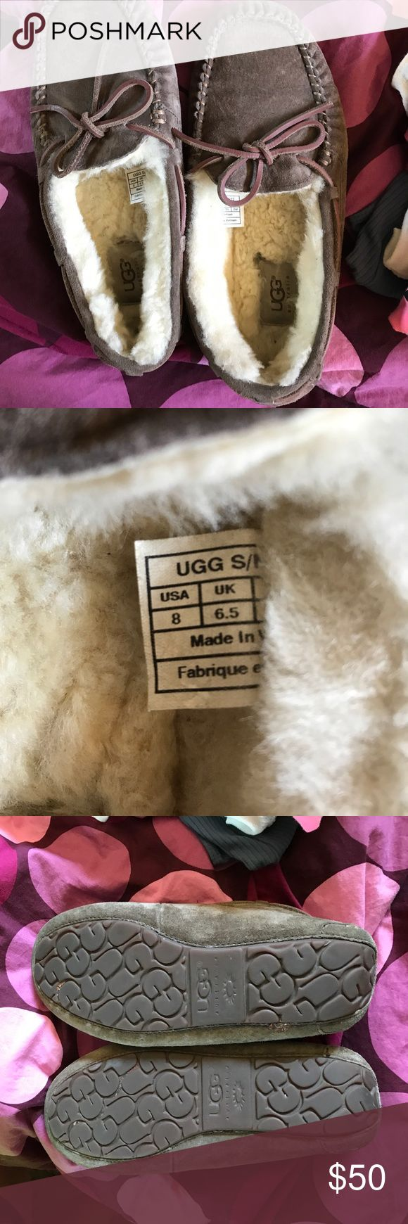 Ugg slippers Brown/fawn color comfortable ugg slippers UGG Shoes Slippers