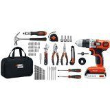 Best Power Tool Set - Black & Decker LDX120PK