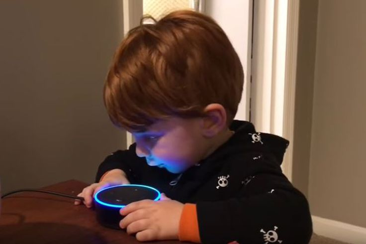 Narro Reading of Toddler asks Amazons Alexa to play song but gets porn instead https://www.youtube.com/watch?v=r5p0gqCIEa8    Heres a suggestion for Alexa 2.0: Wash her mouth out with soap.    Amazons voice-activated digital assistant unleashed a torrent of raunchy language after a toddler asked it to play a childrens song.    Play Digger Digger the young boy named Bobby says in the incident caught on a YouTube video speaking into one of the companys Echo Dot speakers.    You want to hear a…