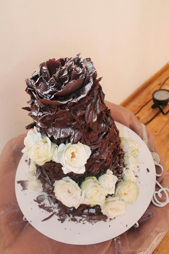 My Daugher's Lint-Mousse-CaramelFudge-Wedding cake by Kanya Hunt  (SA)