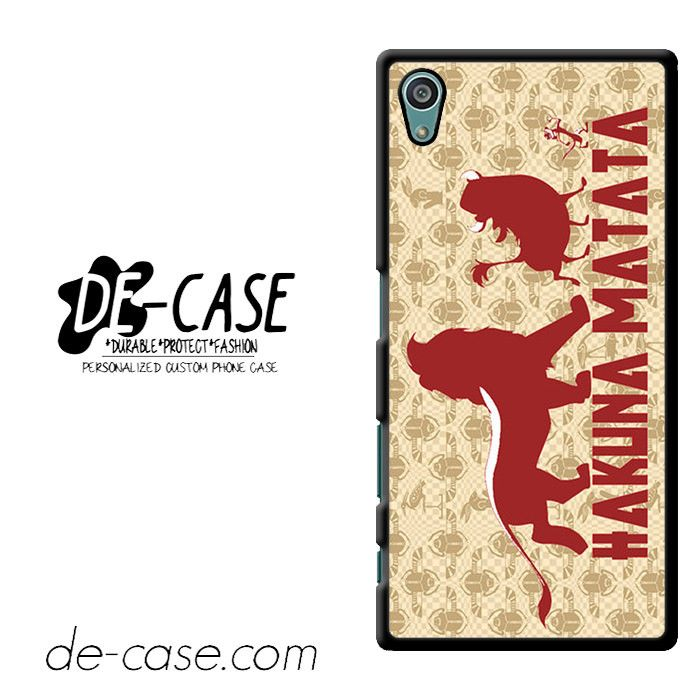 Lion King Hakuna Matata DEAL-6551 Sony Phonecase Cover For Xperia Z5