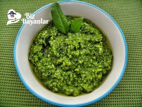 Pesto Sos Tarifi Bizbayanlar.com  #DolmaFıstığı, #Fesleğen, #Sarımsak, #ZeytinYağ,#SosTarifleri http://bizbayanlar.com/yemek-tarifleri/diger-tarifler/sos-tarifleri/pesto-sos-tarifi/