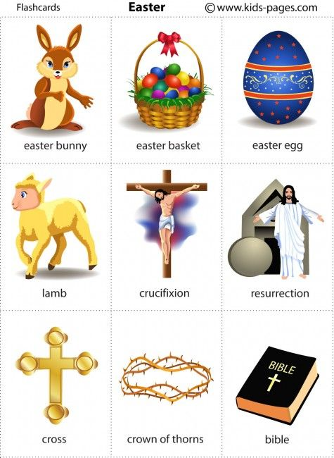 Kids Pages - Easter