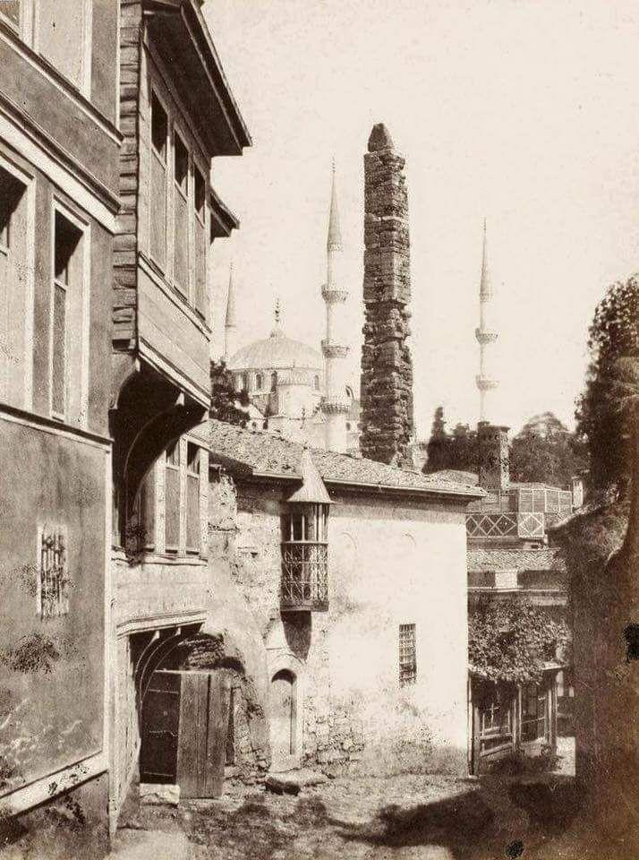 Sultanahmet (1800'lu yılların sonu) #istanlook #nostalji #birzamanlar
