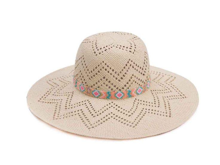 Chapeau Hipanema Marina E15MARI - Montres et Plus #chapeau #mode #été #accessoire