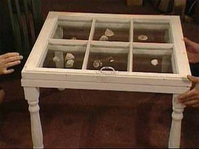 I want to put beach sand and shells in shadow box compartments. How to Build Shadow Box Coffee Table