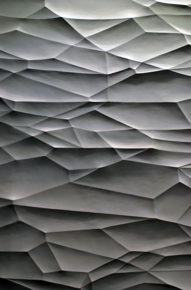 Textura abstracta poligonal irregular con sombras