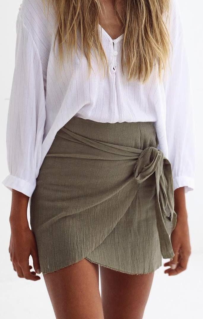 25 beste idee n over groene outfits op pinterest groene rok kledij potlood rok outfits en - Mode stijl amerikaans ...
