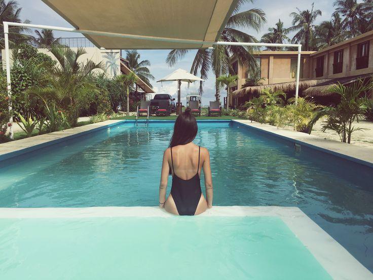 #Philippines #siargao #siargaoisland #summer #beach #palm #bikini #pool #reefbeach