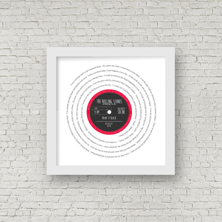 Retro Hipster Gift for him | Perfect Present of Favourite Song | First Dance, Anniversary, Our Song | In Vinyl Record Label Pop Art Design by SausageDogDesigns on Etsy https://www.etsy.com/listing/268743145/retro-hipster-gift-for-him-perfect