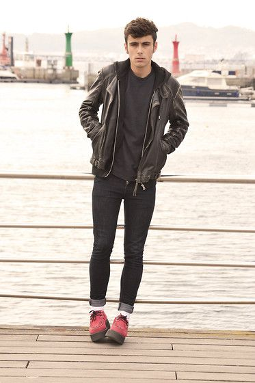 Zara Jacket, Primark Trousers, H