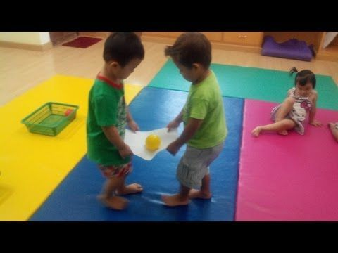 Game for Active Kids - Pegs - YouTube