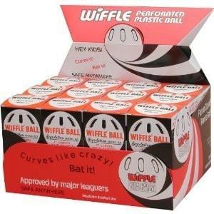 Official Wiffle® Balls Baseballs in Counter Display Case (24 balls) - Ships Free!