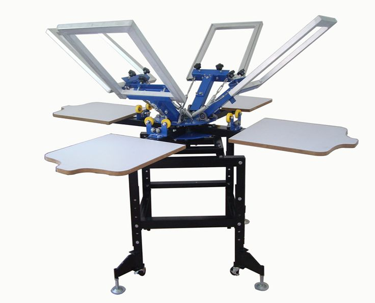 4 COLOUR 4 STATION SCREEN PRINTING MACHINE    Item #:  206    This product was added to our catalog on Sunday 19 February, 2012.    $1,550