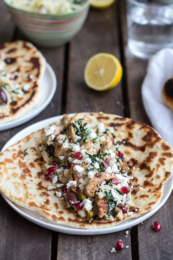 Middle Eastern Chicken and Couscous Wraps with Goat Cheese   halfbakedharvest.com