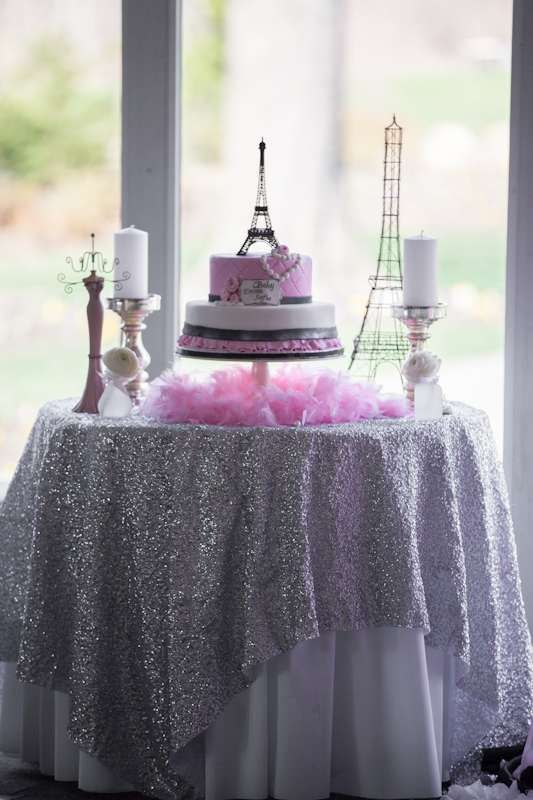 Paris Baby Shower Party Ideas | Photo 26 of 31 | Catch My Party