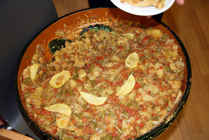 """Lo mejor para el frío: un buen plato de sopas perotas de Álora (Málaga)! / Best for cold: a good dish of """"sopas perotas"""" of Álora (Malaga)!"""