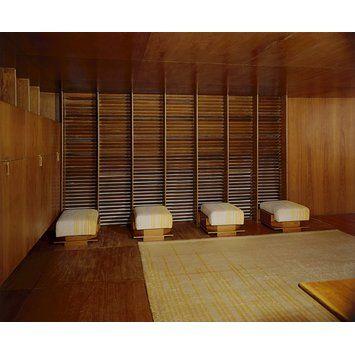 Panelled room - Kaufmann Office; Frank Lloyd Wright Room
